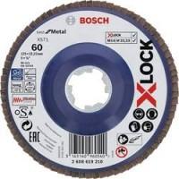 BOSCH X-LOCK Best for Metal vēdekļveida disks 125 mm K60