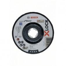 BOSCH X-LOCK Expert for Metal A 30 T BF slīpēšanas disks 125x6 mm