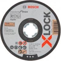 Slīpripas 125 mm X-LOCK (10 gab.)