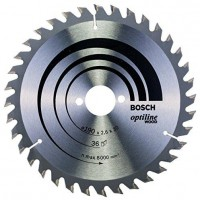 BOSCH Disks 190 x 30 x 2.6 mm T48 Wood