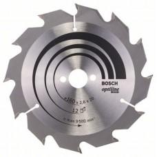 BOSCH OptilineWood disks 160x2.6 mm T12