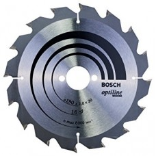 BOSCH Disks 190x30x2.0mm T16 OptilineWood,