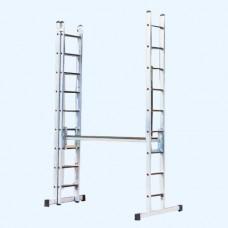 Darba platforma  trīsdaļīgajām kāpnēm