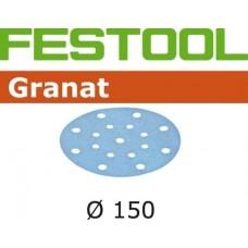 FESTOOL Granat  slīppapīrs lakai P100 150 mm (1 gab)