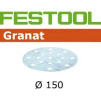 FESTOOL slīppapīrs granāts krāsām P800 150 mm (1 gab.)