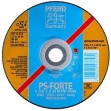 PFERD PSF INOX slīpripas tēraudam 125x7 mm