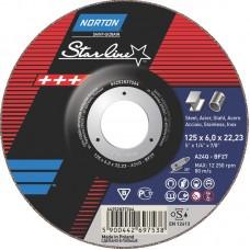NORTON STARLINE slīpripas 125x6 mm
