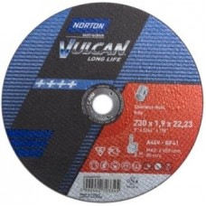 NORTON VULCAN griezējdisks nerūsējošam tēraudam 230x1,9 mm