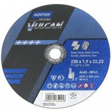 NORTON VULCAN griešanas disks tēraudam 230x1,9 mm (1gab.)
