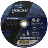 NORTON VULCAN griešanas disks tēraudam 230x2 mm