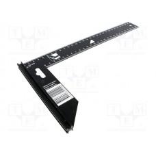 BAHCO precīzs 45 un 90 leņķis 300x170 mm, melns