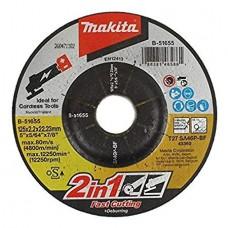 Makita griešanas disks metālam 125x2,2 mm
