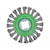 BOSCH X-LOCK Heavy for INOX metāla birste 115 mm