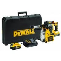 DeWALT DCH275P2 perforators ar putekļu nosūkšanu 2x5 Ah