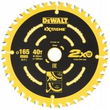 DeWALT ripzāģa disks kokam165 mm T40