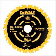 DeWALT ripzāģa disks kokam 190 mm T24