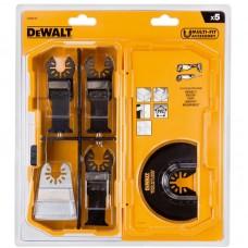 DeWALT komplekts Multitool 20701x2+20704+20714+20711