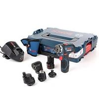 BOSCH GSR 12V-15 FC Akumulatora urbmašīna-skrūvgriezis 2x2Ah