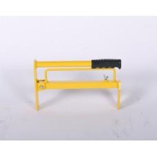 OPTIMAS Bruģa un plākšņu nesamais 29 - 49 cm (dzeltens)