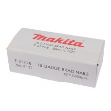 Makita skrūves 1,2x38 mm 18GA 5000 gab
