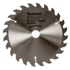 Makita disks kokam 165 mm T24