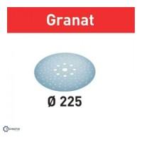 FESTOOL Granat STF slīpēšanas papīrs špaktelei P180 225 mm (25 gab.)