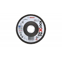 BOSCH X-LOCK Best for Metal vēdekļveida disks 125 mm K60 Lenktas.