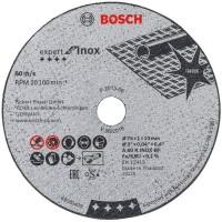 BOSCH Expert Inox nerūsējošā tērauda griešanas disks 76x1 mm (5 gab.)