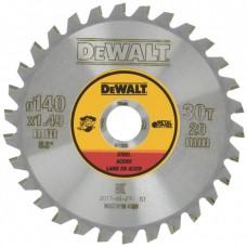 DeWALT DT1923 ripzāģa disks metālam 140x1.49 mm 30T Steel