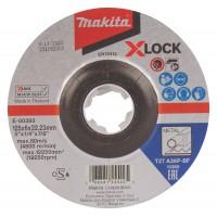 Makita metāla slīpripas 125x6 mm X-LOCK